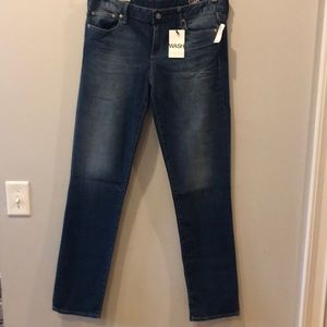 GAP real straight jeans TALL